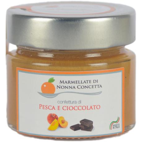 Confettura di Pesca e cioccolata 100g