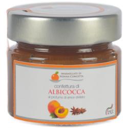 Confettura di Albicocca al profumo di Anice Stellato  110g