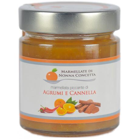 Marmellata Piccante di Agrumi e Cannella 220g