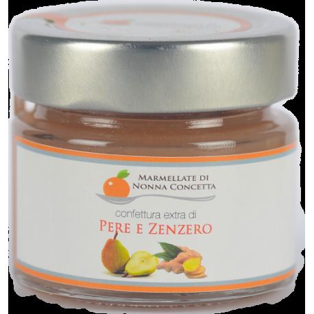 Bomboniera confezionata con  1 Confettura Extra di Pere e Zenzero- nonnaconcetta.it