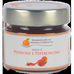 Bomboniera confezionata con  1 Delizia di  peperone  peperoncino nonnaconcetta.it