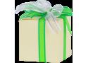 Bomboniera scatola cartone avorio fiocco verde e bianco con 1 delizia di peperone e peperoncino -  nonnaconcetta.it