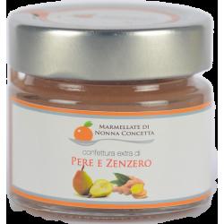 Bomboniera confezionata con  1 Confettura Extra di Pere e zenzero  nonnaconcetta.it