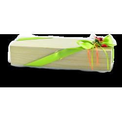 Confezione regalo cofanetto in legno con 2 confetture Nonnaconcetta