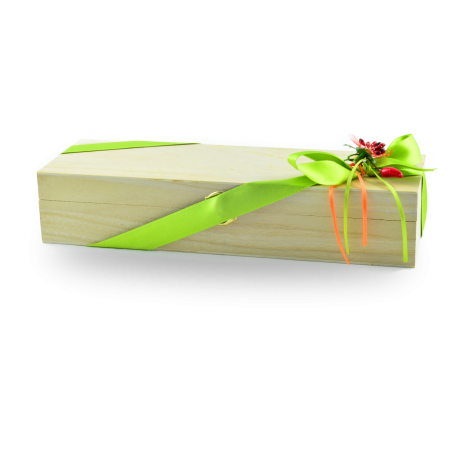 Confezione regalo cofanetto in legno con 4 confetture Nonnaconcetta
