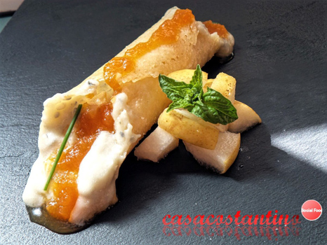 Cannoli di parmigiano ai formaggi